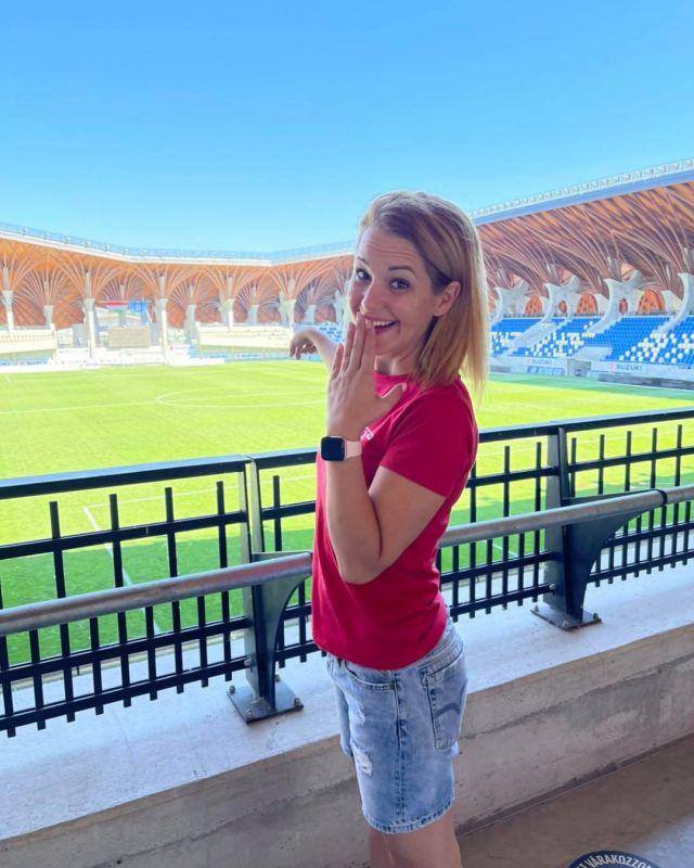 @kiraly823 már izgatottan várja a meccseket, és persze titeket, itt a Pancho Arénában! ⚽️😁